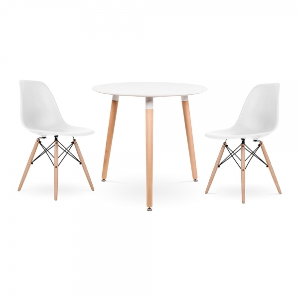 Dsw Dining Set 1 Round Table 2 Chairs
