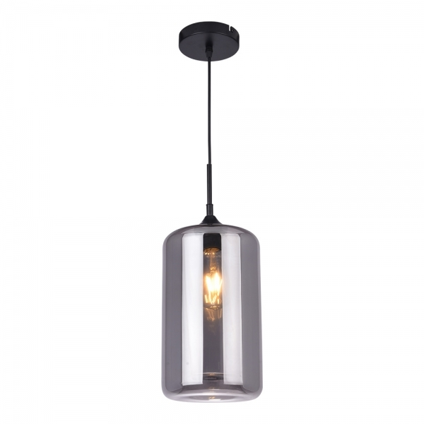 glass smoked lights pendant black light hanging fabulous calais designer lamp