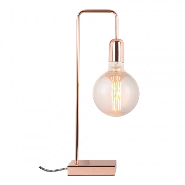 Cult living elegance metal table lamp in copper cult uk cult living elegance metal table lamp copper mozeypictures Images
