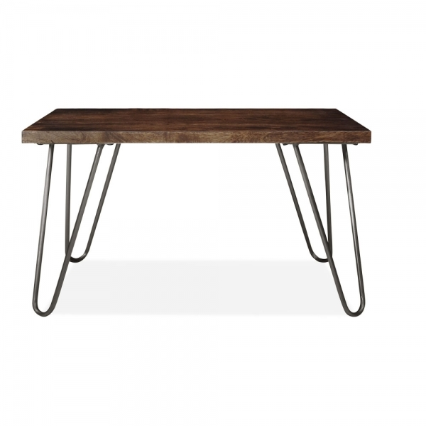 Lighting Shop Near Epping: Gunmetal Epping Hairpin Coffee Table