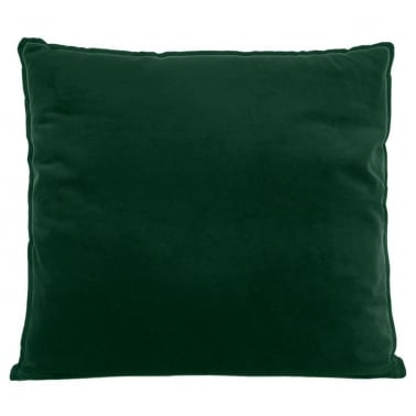 Extra Large Floor Cushion, Velvet Fabric, Forest Green