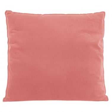 Extra Large Floor Cushion, Velvet Fabric, Pink