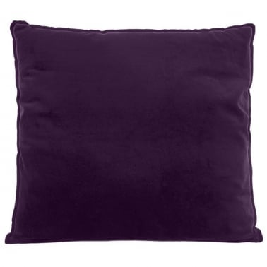Extra Large Floor Cushion, Velvet Fabric, Purple