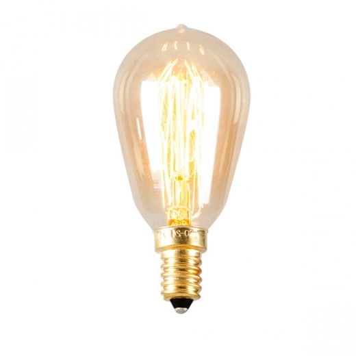 Edison Hair Pin Filament Light Bulb ST38 - E14 40W