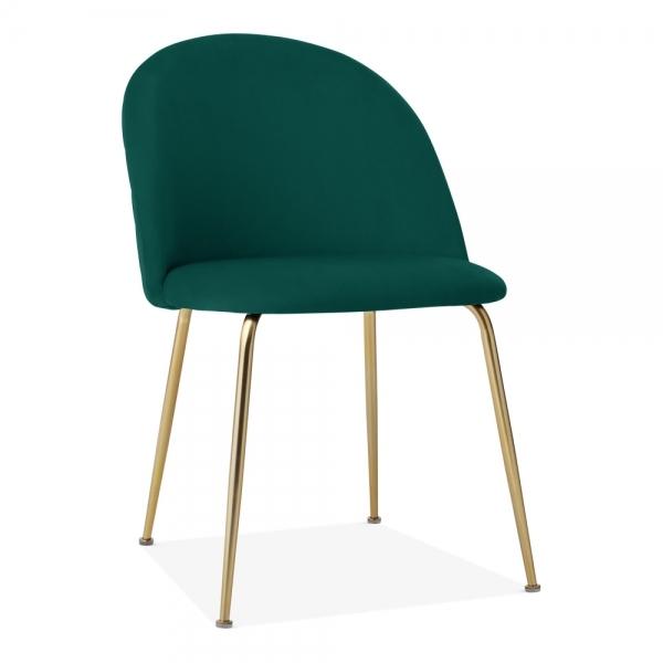 Admirable Heather Dining Chair Velvet Upholstered Teal Dailytribune Chair Design For Home Dailytribuneorg