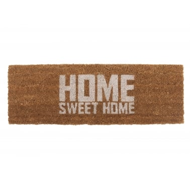 Home Sweet Home Doormat - White