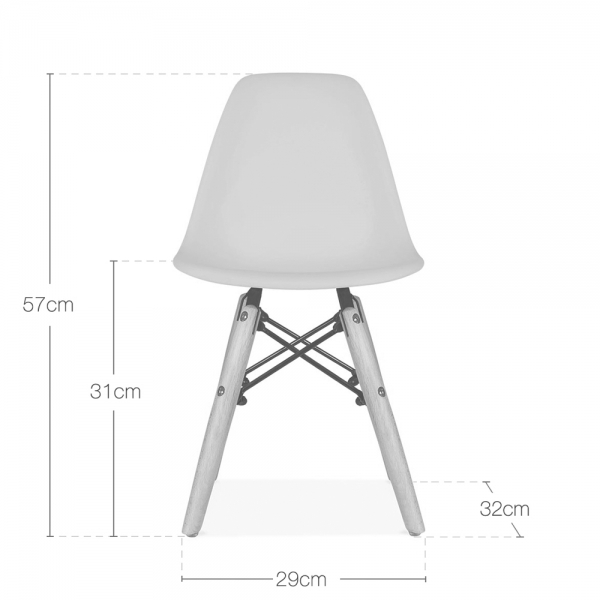 Awesome Dsw Style Kids Plastic Chair White Gmtry Best Dining Table And Chair Ideas Images Gmtryco