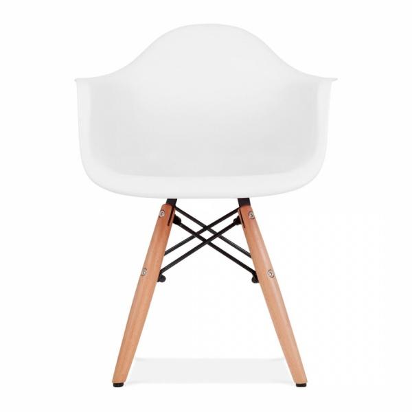Iconic Designs Kids White DAW Chair