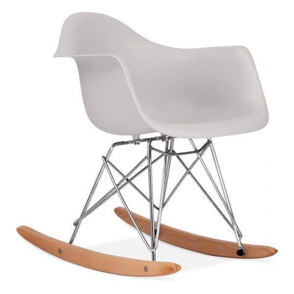 AuBergewohnlich Iconic Designs Light Grey Kids RAR Rocker Chair