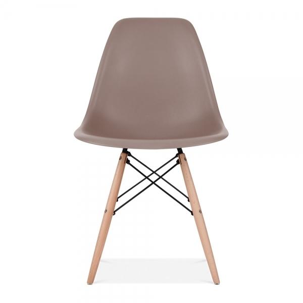 Iconic Designs Warm Grey DSW Style Chair
