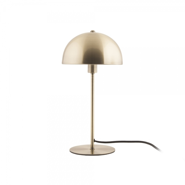 Domed Bonnet Metal Table Lamp Antique Gold