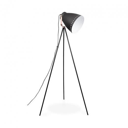 Black Mingle Metal Tripod Floor Lamp Modern Floor Lamps