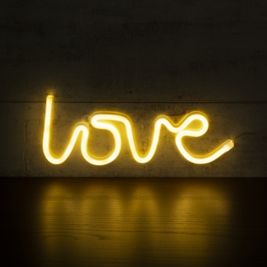 Cult Living Love LED Neon Sign Wall Light, White