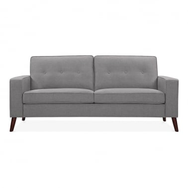 Madison 3 Seater Sofa, Fabric Upholstered, Grey
