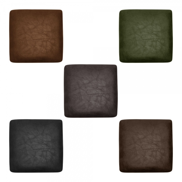 Magnetic Seat Pads For Tolix Stools Faux Leather