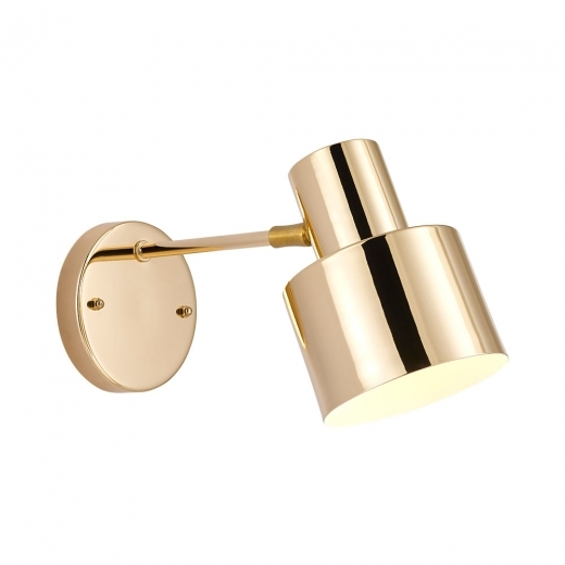 Cult Living Midas Metal Wall Light, Gold