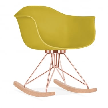 Moda Rocking Chair CD4, Mustard
