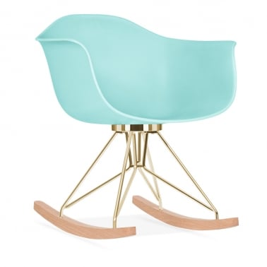 Moda Rocking Chair CD4, Pastel Blue