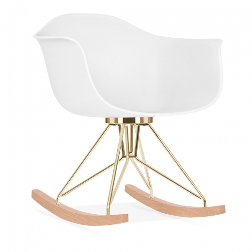 Cult Design Moda Rocking Chair CD4, White