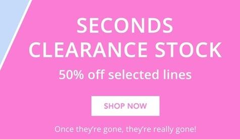 Seconds Clearance Nav