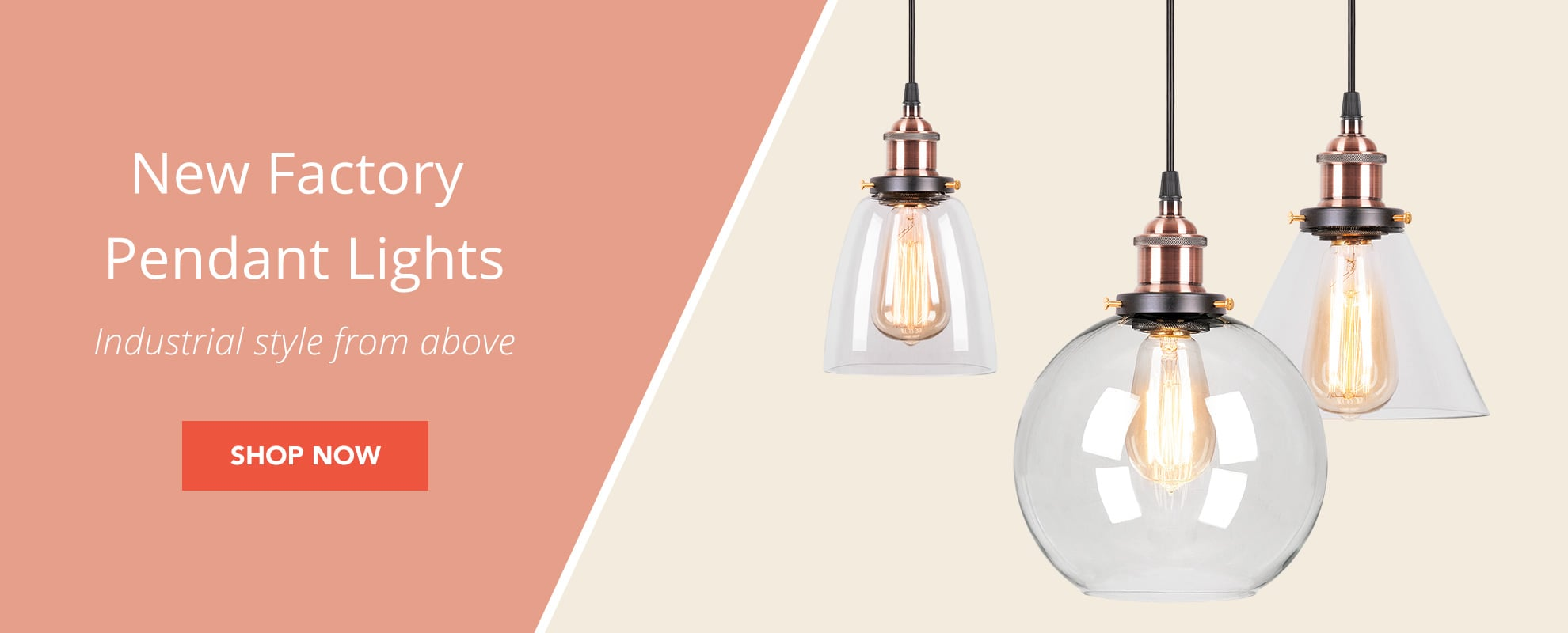 Factory Pendant Lights Hompage - UK