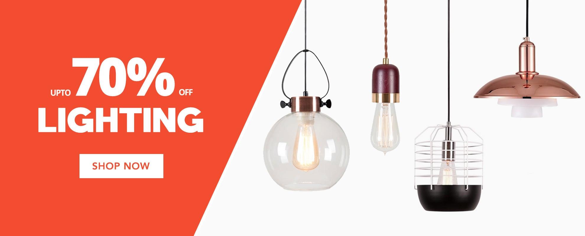 Bank Holiday Sale Lighting