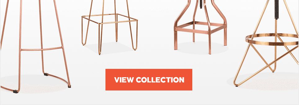 New Brass & Copper Stools
