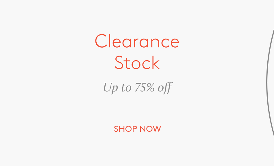 Clearance Sale 75%