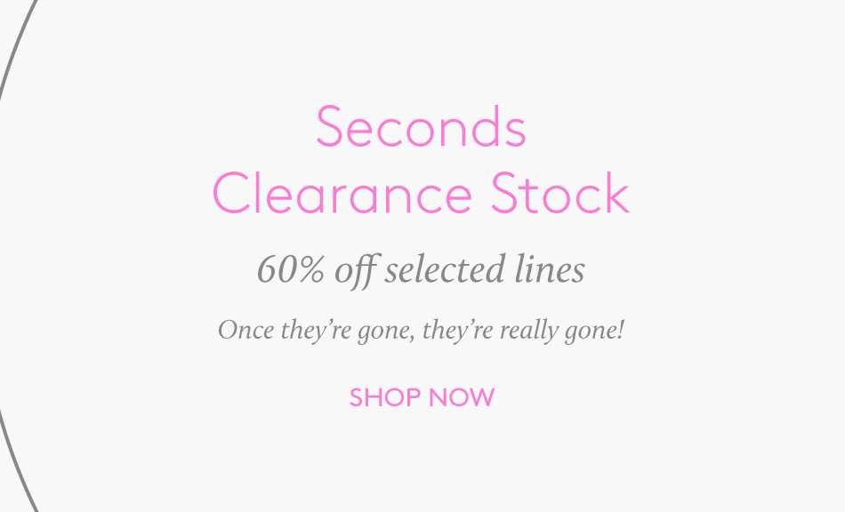 Seconds Clearance 60%