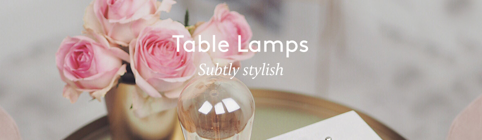 Table Lamps Middle Top