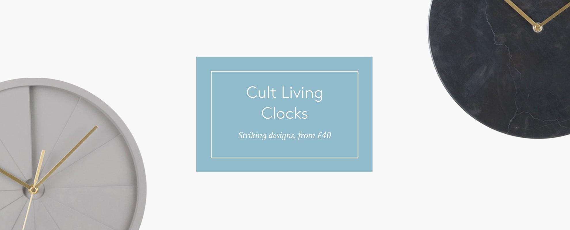 Cult living Clocks