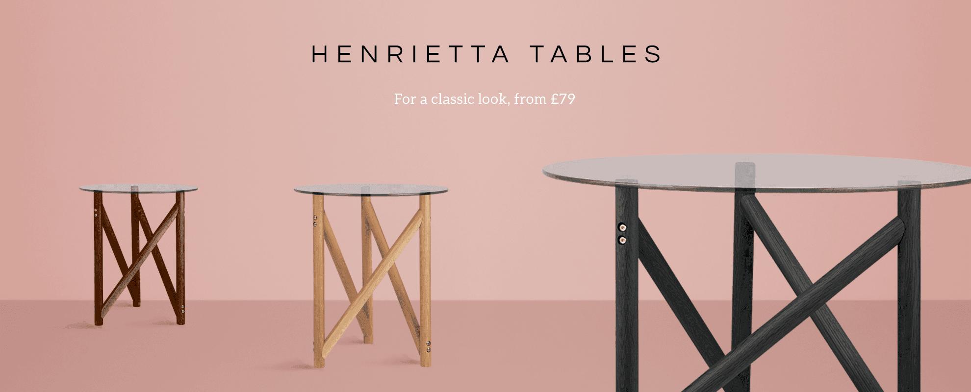 Henrietta Tables