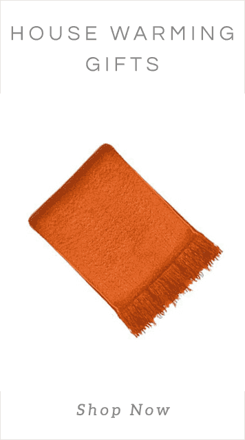 Gifts_Orange Throw