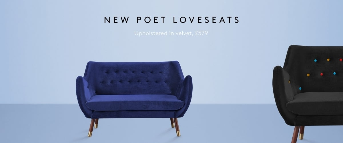 Poet Loveseats