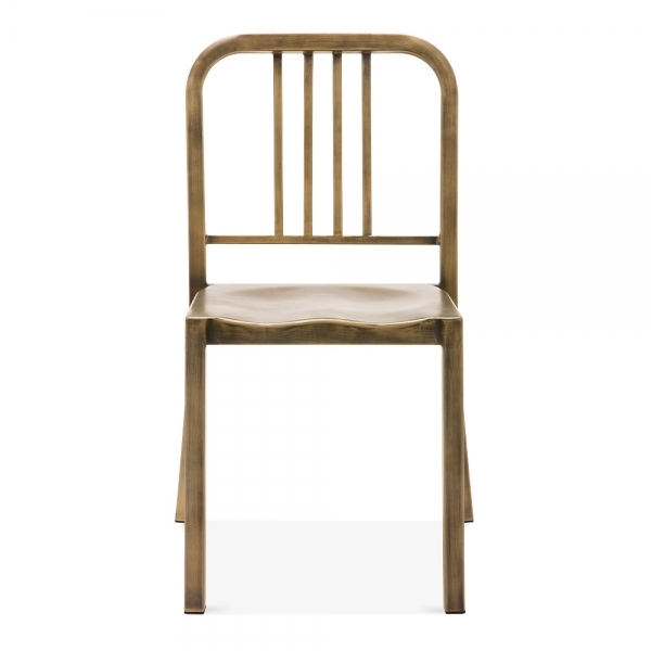 brass and metal furniture. Navy Style Metal Dining Chair 1006 - Antique Brass And Furniture E