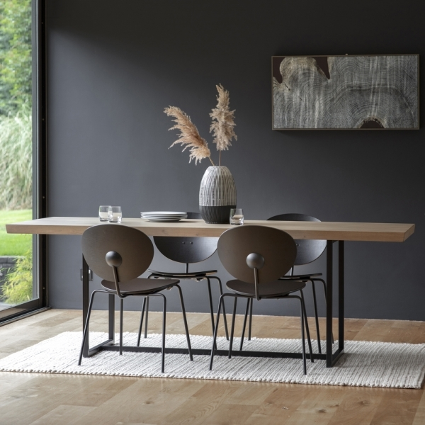 Novato Rectangle Dining Table 200cm