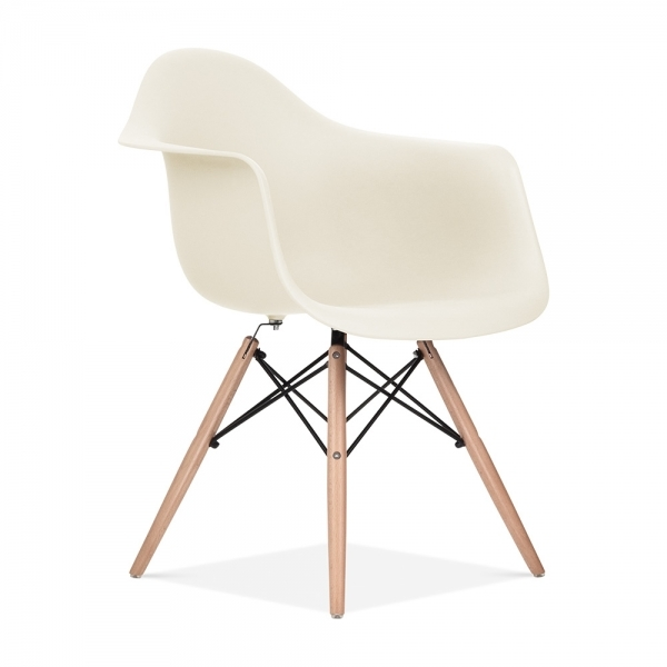 Remarkable Off White Daw Style Chair Unemploymentrelief Wooden Chair Designs For Living Room Unemploymentrelieforg