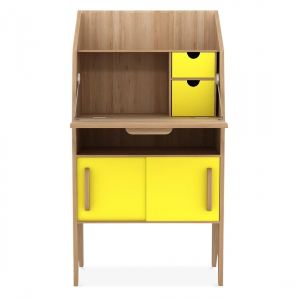 Mr Marius Origami Desk With 2 Sliding Doors And 2 Drawers Cult Uk