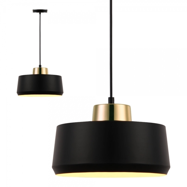 Black And Brass Oscar Ceiling Light Metallic Ceiling