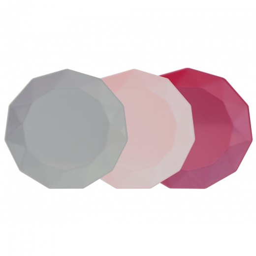 Cult Living Picnic Plates - Set of 3 - Pinks