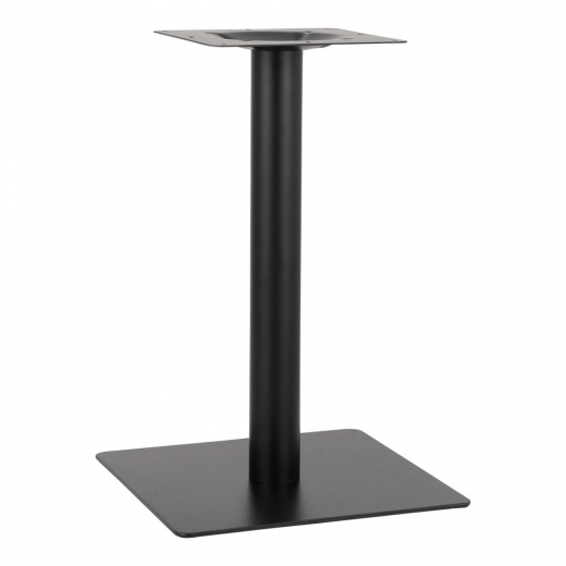 Cult Living Portman Stainless Steel Cafe Table Base, Black Finish