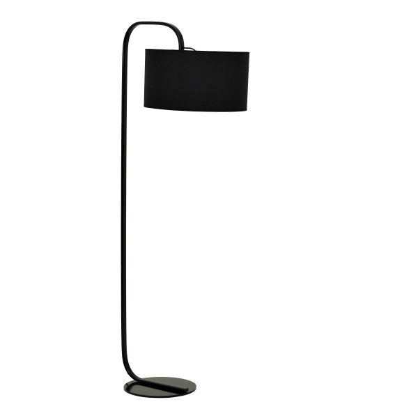 Black shower floor lamp aloadofball Choice Image