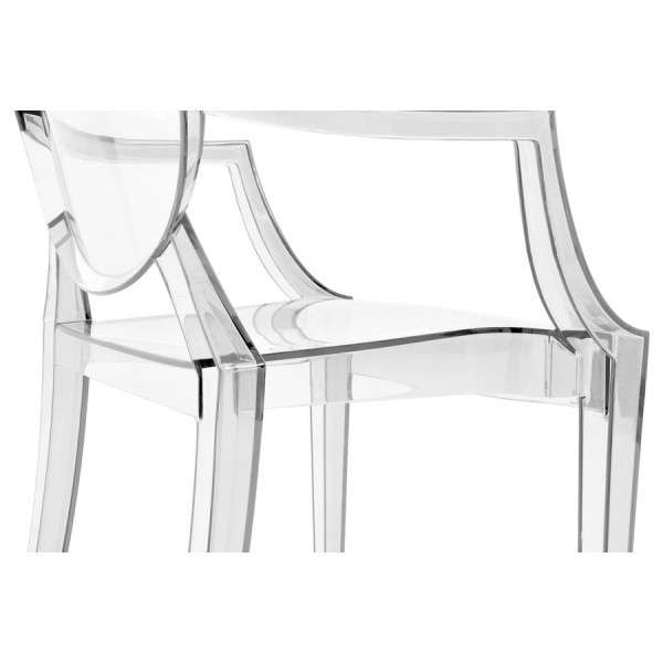 ... Ghost Louis Ghost Armchair   Clear   Clearance Sale ...