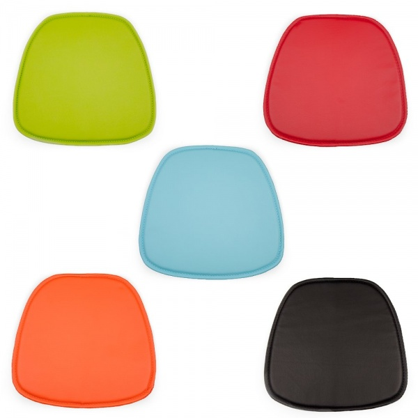 Eames seat pad cushions for daw dar rar style chairs for Coussin pour chaise eames