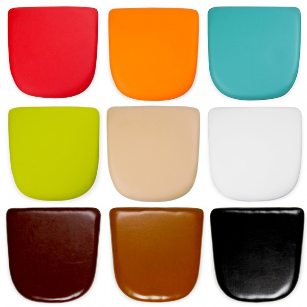 Faux Leather Seat Pads For Tolix Style Chairs