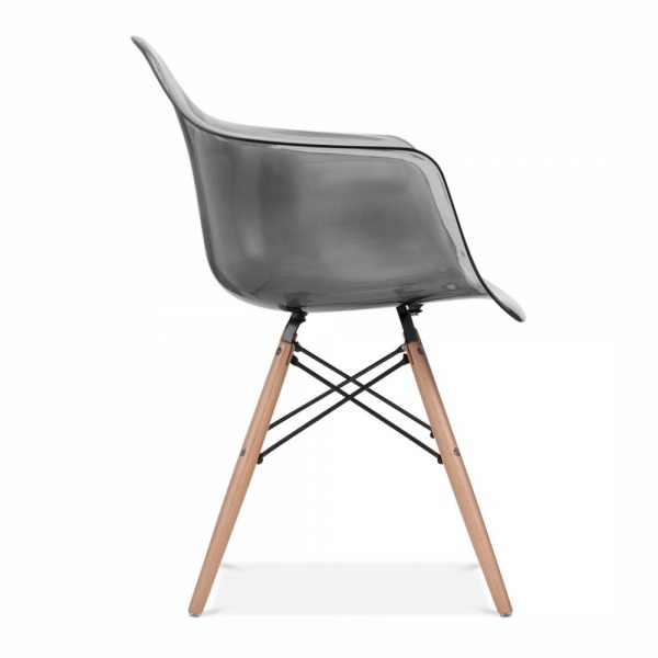 black eames style daw chair side cafe chairs cult uk. Black Bedroom Furniture Sets. Home Design Ideas