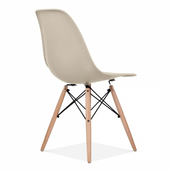 charles eames style beige dsw chair | side & cafe chairs | cult uk - Chaise Dsw Charles Eames