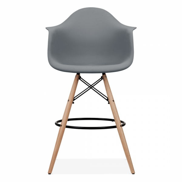 Préférence Eames Style Cool Grey DAW Stool | Kitchen & Bar Stools | Cult UK KL22