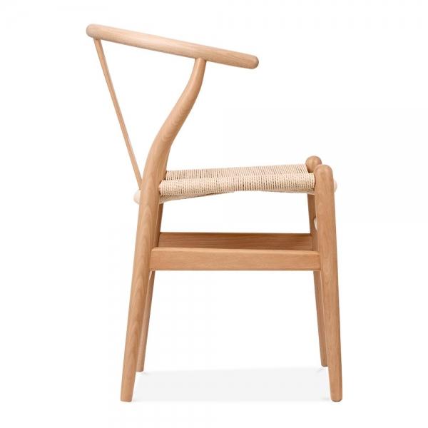 danish designs wishbone chair natural natural