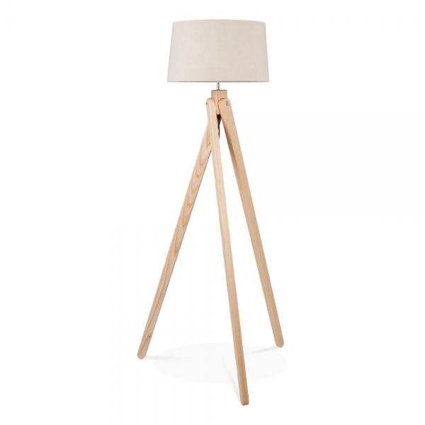 ... Cult Living Tripod Wooden Floor Lamp - Natural Wood ... - Cult Living Tripod Floor Lamp In Natural Wood Cult Furniture UK